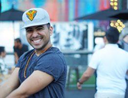 DJ BodyRawK dances hip hop at A Time To Dance in North Park, San Diego.