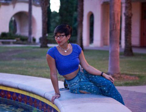 Elizabeth Kilrain teaches blues at A Time To Dance in San Diego