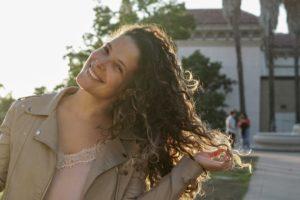 Ruana Vasquez in Balboa Park, San Diego